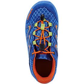 Lowa Maddox Low Shoes Junior royal/orange
